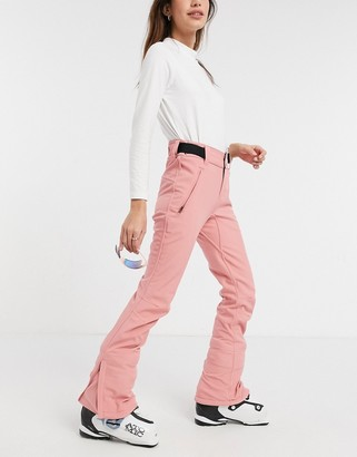 Protest Lole softshell ski pant in pink