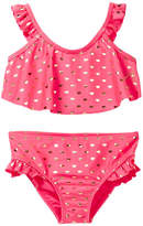 Juicy Couture Fuchsia Heart 2-Piece Swimsuit (Toddler Girls)