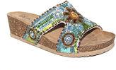 Modellista Batina Sequin Slide Wedge Sandals