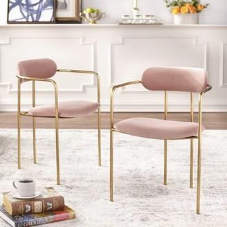 Mercer41 Carrigan Upholstered Dining Chair Mercer41