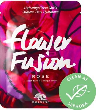 Origins Flower Fusion Rose Hydrating Sheet Mask