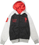 U.S. Polo Assn. Red & White Hoodie - Boys