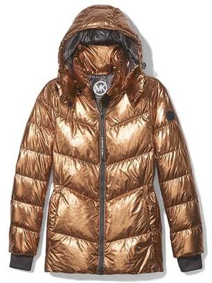 MICHAEL Michael Kors Cropped Puffer Coat