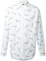DSQUARED2 surf print shirt - men - Cotton - 44