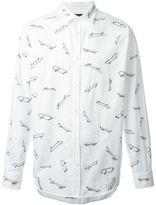 DSQUARED2 surf print shirt