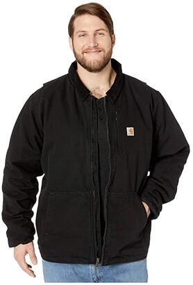 Carhartt Big Tall Full Swing Armstrong Jacket (Black) Men's Clothing