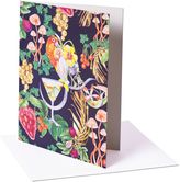 Matthew Williamson Pack of 6 Picnic Rainbow Greeting Cards