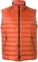 Fay padded zip gilet - men - Polyamide - S