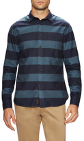 Jachs Oxford Striped Sportshirt