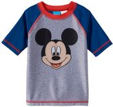 Disney Disney's Mickey Mouse Toddler Boy Colorblock Rashguard