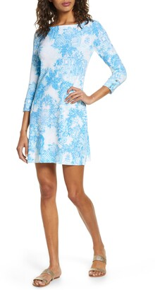 Lilly Pulitzer Sophie Toile Print UPF 50+ Knit Dress