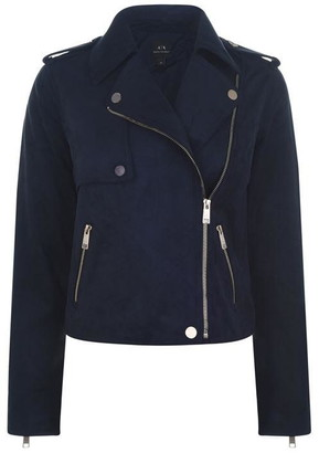 Armani Exchange Suede Jacket Ld94
