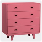 Laurette You and Me Chest of Drawers - Bubblegum