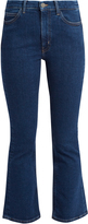 MiH Jeans Marty flared cropped jeans