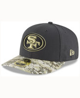 New Era San Francisco 49ers Salute To Service Low Profile 59FIFTY Cap