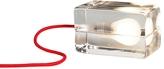 Design House Stockholm Block Lamp - Red Cord