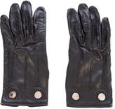 Hermes Clou de Selle Lambskin Gloves