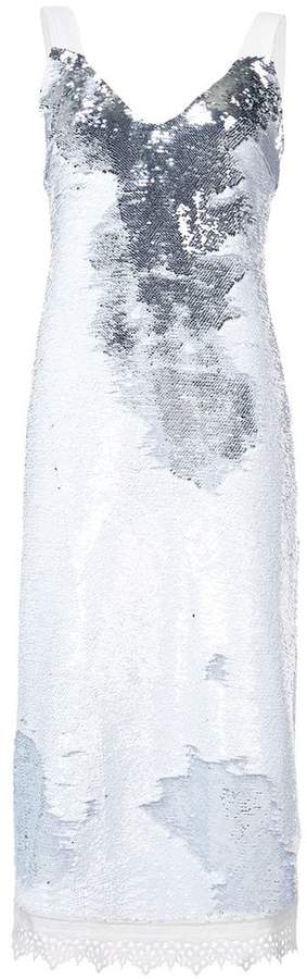Derek Lam Sequined Cami Dress