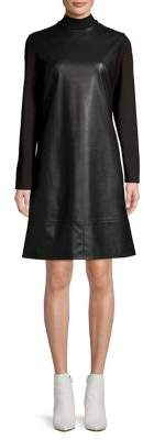 Marella Sleek Mockneck Dress