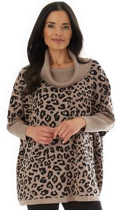Apt. 9 Women's Cowl Neck Poncho Sweater