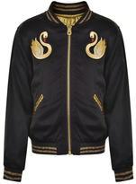 Marc Jacobs Children Girls Swan Bomber Jacket