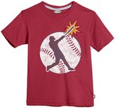 City Threads Heathered Graphic Tee (Toddler/Kid) - Red-8