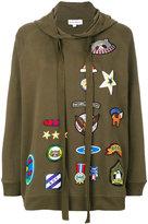 Mira Mikati patch hoodie