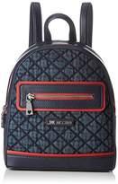 Love Moschino Moschino, Women's Backpack Handbag, Blau (Denim), 9x27x23 cm (B x H T)