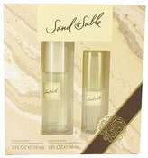 Coty SAND & SABLE by Gift Set - 2 oz Cologne Spray + 1 oz Cologne Spray Women
