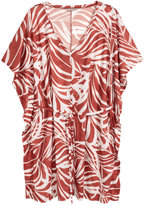 H&M H&M+ Jersey Tunic - Rust/patterned - Ladies