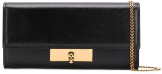 Alexander McQueen mini Skull wallet on chain