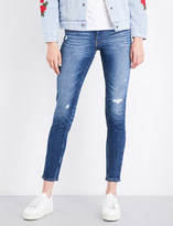Levi's 711 Altered skinny mid-rise jeans
