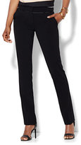 New York & Co. 7th Avenue Design Studio Pant - Runway - Slimmest Fit - Slim Leg - Double Stretch - Tall