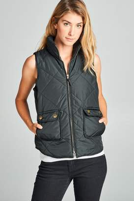 Racine Puff Vest With-Pockets
