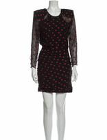Thumbnail for your product : CARMEN MARCH Silk Mini Dress Black
