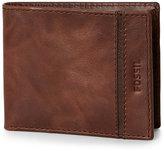 Fossil Brown Vermont Bifold Wallet