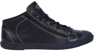 Pataugas Bumper Leather High Top Trainers
