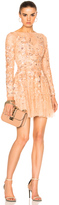 Zuhair Murad Long Sleeve Mini Dress