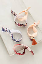 Anthropologie Marbled Hair Tie Set