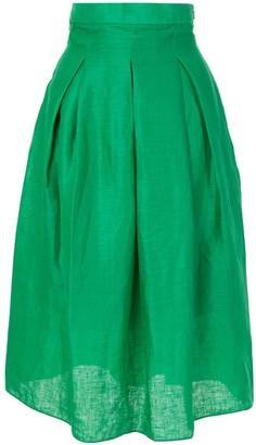 Bambah High-Waist Midi Skirt