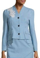 Creatures of the Wind Jepy Houndstooth Jacket