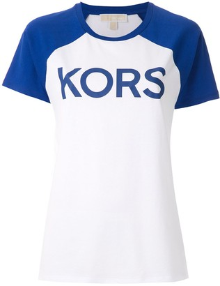 MICHAEL Michael Kors logo baseball T-shirt