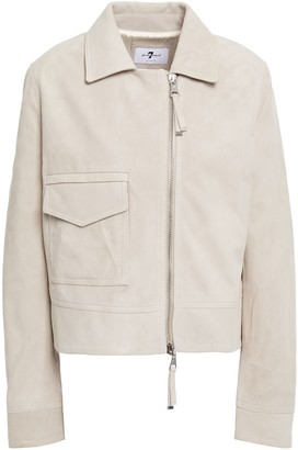 7 For All Mankind Suede Jacket
