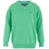Gant Green V-Neck Sweater