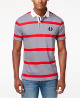 Tommy Hilfiger Men's Big & Tall Teague Striped Polo