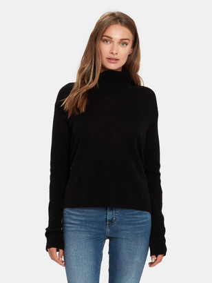 ATM Anthony Thomas Melillo Cashmere Wide Turtleneck Sweater
