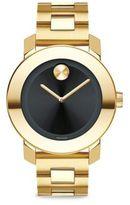 Movado Bold Goldtone Stainless Steel Bracelet Watch