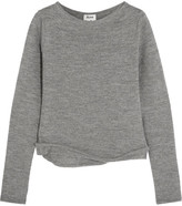 Acne Studios Janelle Alpaca And Wool-blend Sweater - Gray