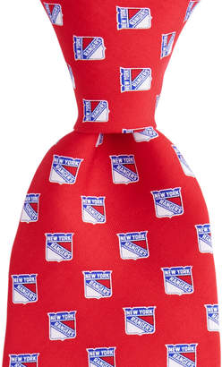 Vineyard Vines New York Rangers Logo Tie