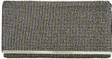 Adrianna Papell Stone Bead Embellished Flapover Clutch Bag, Gunmetal